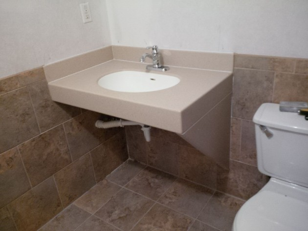 Bathroom Remodeling For Handicap Accessibility : Handicap accessible bathroom guyson construction